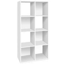 Contemporary Cube Display Storage Shelf