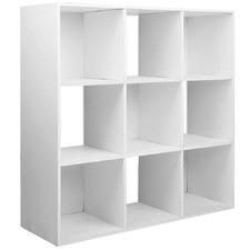 Contemporary Cube Display Storage Shelf
