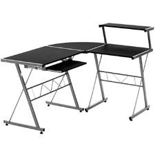 Adjustable Metal Corner Desk