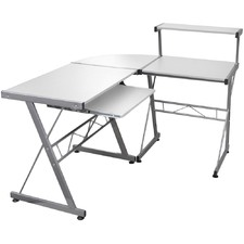 Adjustable Metal Corner Desk