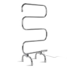 5 Rung Free-Standing Electric Heated Towel Rail