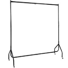 180cm Kingston Single  Metal Garment Display Rail