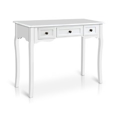 White Arie French Provincial Hall Table