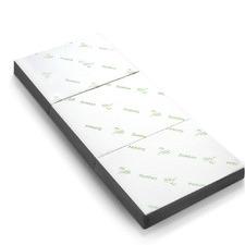 Giselle Folding Portable Bamboo & Foam Single Mattress