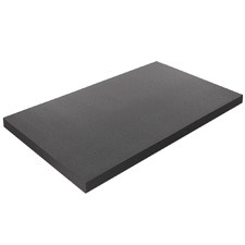 Charcoal Giselle Memory Foam Mattress Topper