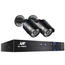 4CH Ul Tech 2 Bullet Camera CCTV Security System