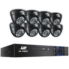 8CH Ul Tech 8 Infrared Camera CCTV Secury System