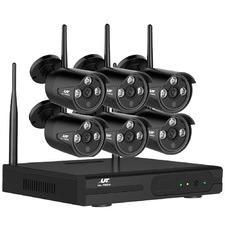 8CH Ul Tech Wireless 6 Security Camera System
