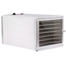 5 Star Chef Commercial Stainless Steel Food Dehydrator with 8 Trays