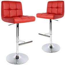 85cm Aasiyah Faux Leather Barstools (Set of 2)
