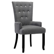 Grey Molly French Provincial Dining Chair