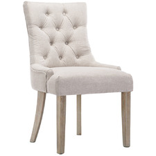 Beige Kaeden French Provincial Dining Chair