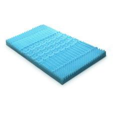 Blue Giselle Bedding Bamboo Memory Foam Mattress Topper