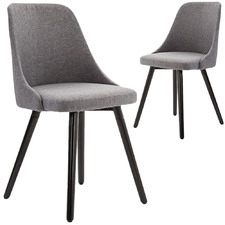 Beth Upholstered Dining Chairs (Set of 2)