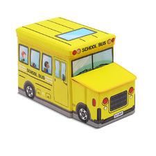 Yellow School Bus Storage Box