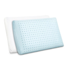 White Adriana Cool Gel Memory Foam Pillows (Set of 2)