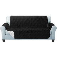 Drew Quilted 3 Seater Sofa Cover Protector
