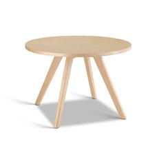 Beige Dadone Round Wooden Coffee Table
