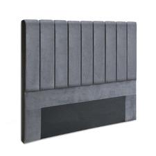 Charcoal Sala Velvet Bedhead
