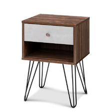 Brown Giuseppe Bedside Table