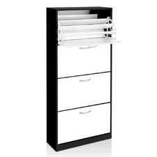Denby 4 Compartment Shoe Cabinet