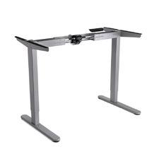 Grey Unix Metal Sit & Stand Desk