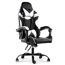 Linden Faux Leather Adjustable Office Chair