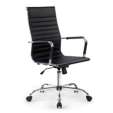 Eames Premium Replica High Back Faux Leather Office Chair
