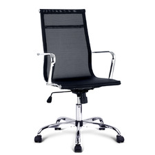 Black Valley Mesh Reclining Office Chair