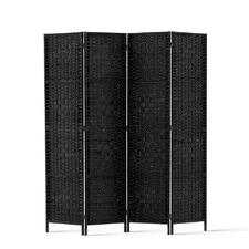 Peekawoo 4 Panel Rattan Room Divider