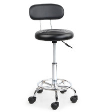 Eden Faux Leather Adjustable Salon Stool