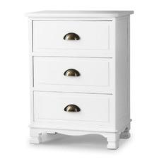 Jilliane 3 Drawer Wooden Storage Cabinet