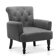 Lorraine Upholstered Wingback Armchair