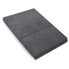Grey Giselle Bedding Fold-Out Mattress