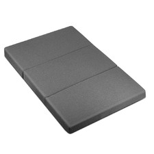 Dark Grey Giselle Bedding Fold-Out Mattress