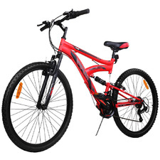 Red Rush Limited Edition 18 Speed Mountain Bike