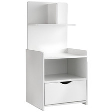 White Benita Bedside Table