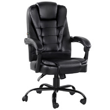 Morvon Faux Leather Office Massage Chair
