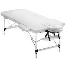 White Zensor Double Fold Massage Table