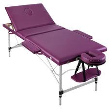 Purple Zensor Triple Fold Massage Table