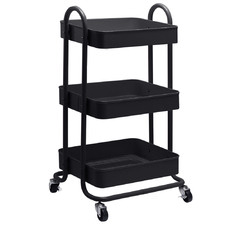 Bourdain 3 Tier Kitchen Trolley