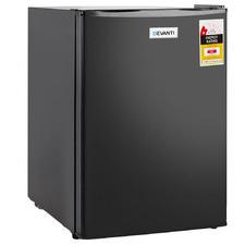 Black Devanti 70L Portable Mini Fridge Freezer