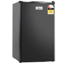 Black Devanti 85L Mini Fridge Freezer