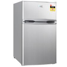 Silver Devanti 127L Mini Fridge Freezer