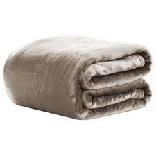 Giselle Bedding 600GSM King Faux Fur Blanket
