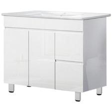 90cm Cefito Freestanding Bathroom Cabinet with Basin