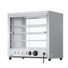 Silver Devanti 4 Tier Stainless Steel Food Warmer