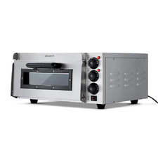 Silver Devanti 2000W Single Deck Electric Oven