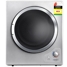 Silver Devanti 4kg Front Load Tumble Dryer