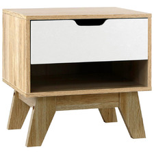 Natural Arden Bedside Table